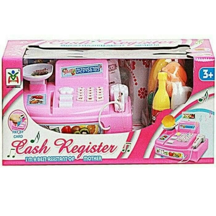 harga Mainan Mesin Kasir - Kasiran / Mini Cash Register Pink Ls820a3 Tokopedia.com