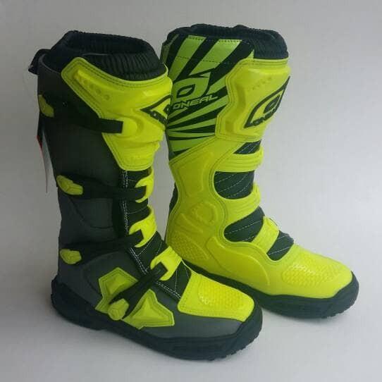 harga Sepatu boots cross oneal element warna hijau stabilo Tokopedia.com