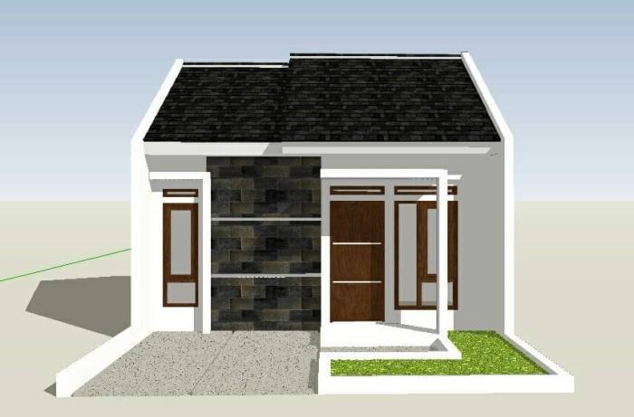 Jual Desain Rumah Tipe 36 Kota Tasikmalaya Maringtasik Tokopedia
