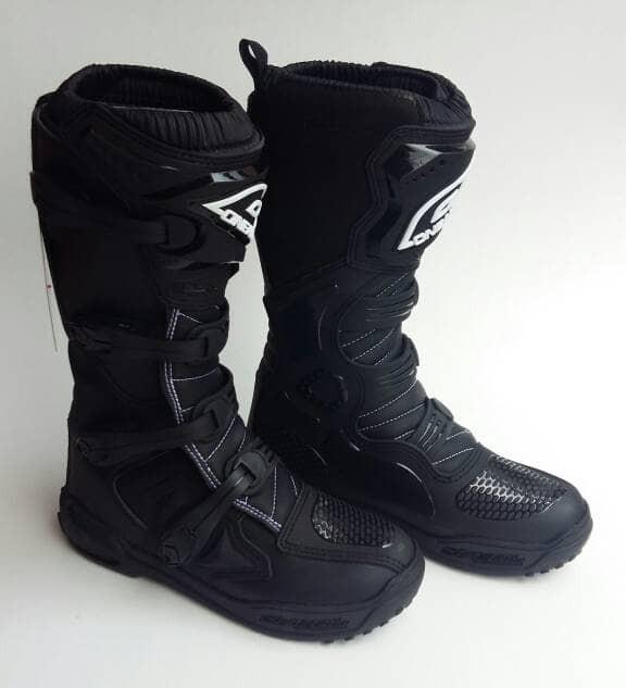 harga Sepatu boots cross oneal element 2017 hitam Tokopedia.com