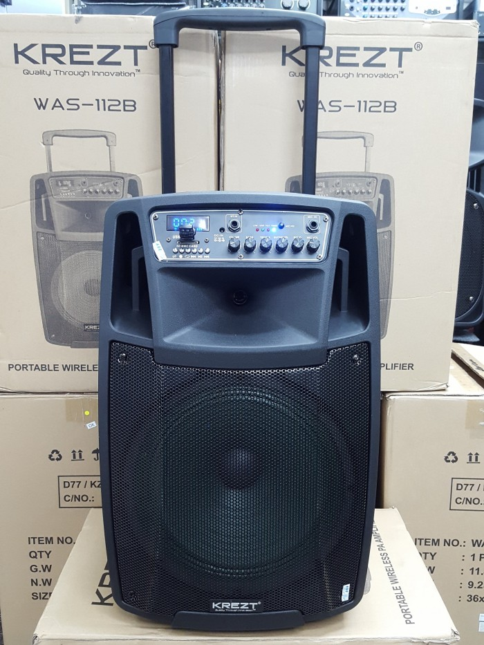 harga Krezt was-112b - portable sound system Tokopedia.com
