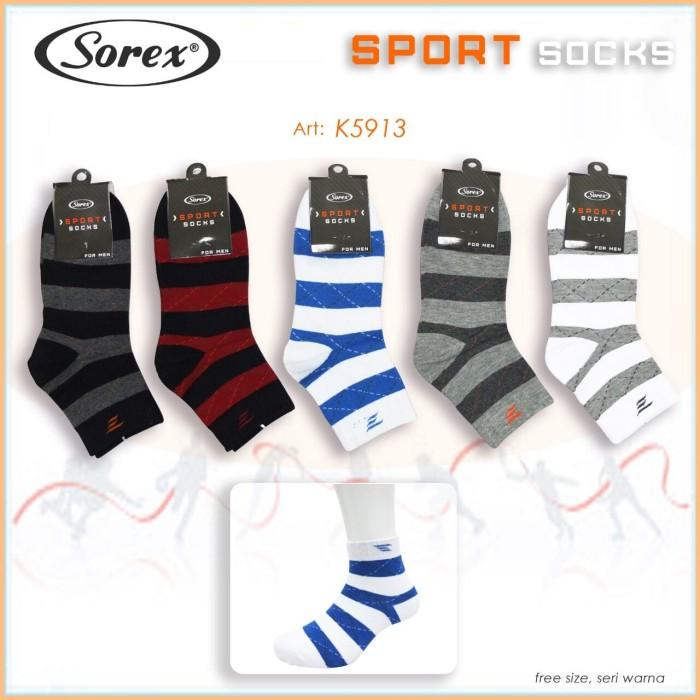 Kaos Kaki Cowok Sorex Sport K5913