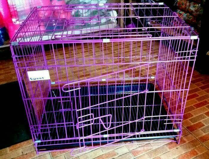 harga Kandang lipat besi kucing kelinci burung sugar glider hamster Tokopedia.com