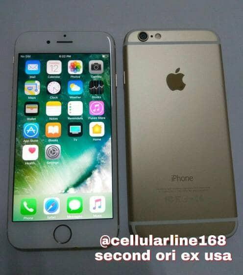 Jual Iphone 6 128Gb Gold Second Mulus ex International ... ca0051b85c