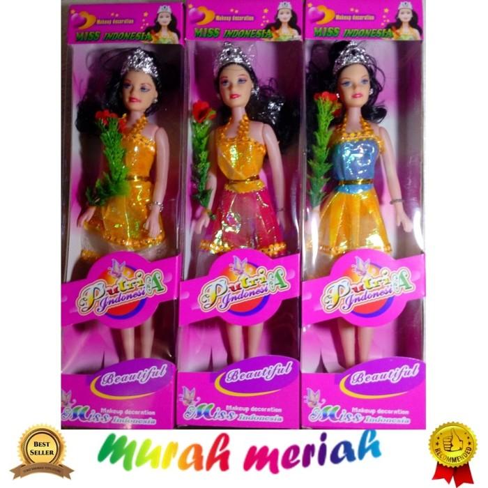 Boneka Barbie Makeup Dekorasi Putri Indonesia Mainan Anak Perempuan 7137ed40da