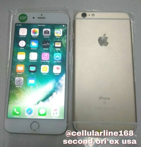 Jual Iphone 6s Plus 64Gb Gold Second Mulus Ex International USA ... 904b0d90dc