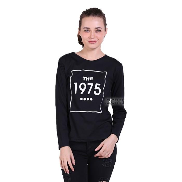 harga Kaos lengan panjang wanita the 1975 - hitam Tokopedia.com