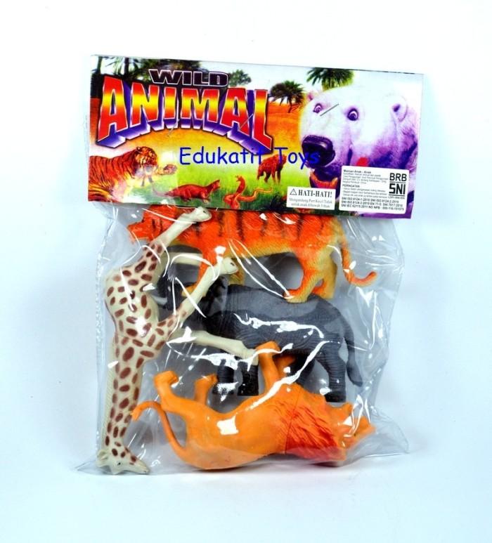 harga Binatang karet besar wild animal mainan anak Tokopedia.com
