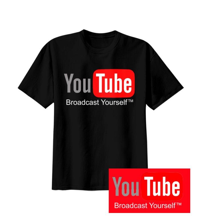 Kaos Distro Youtube T Shirt Putih - Daftar Harga Terbaru dan ... 5b0020c0d4