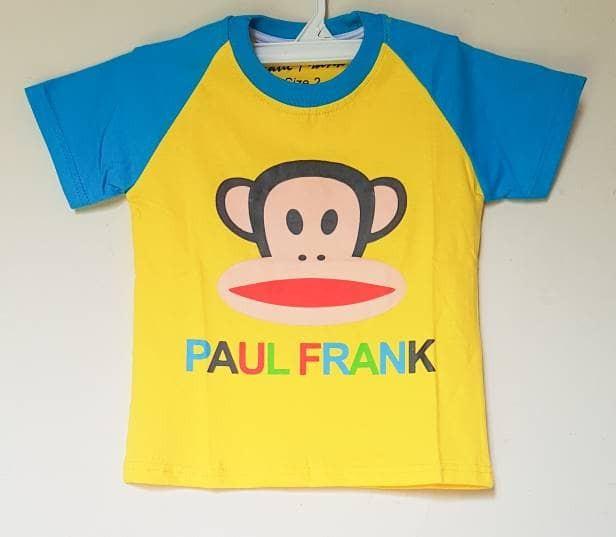 harga Baju kaos anak laki-laki paul frank 1-6 Tokopedia.com