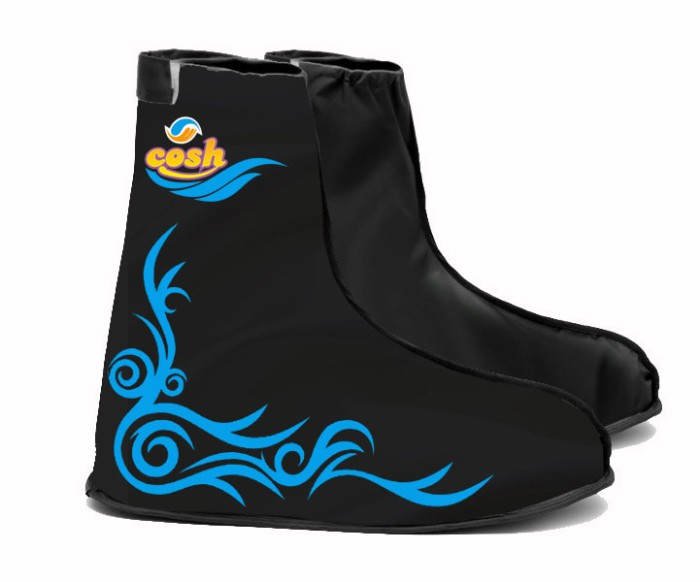 Jas Hujan Sepatu Cosh Sarung Sepatu Cover Shoes Anti Air Cosh FunCover