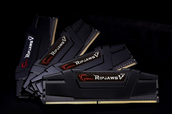 harga Gskill ripjaws v 64gb (4x16gb) ddr4 pc25600 (f4-3200c14q-64gvk) Tokopedia.com