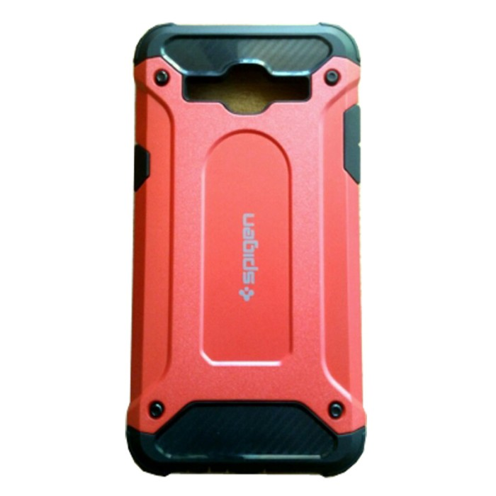 Spigen Iron Man Case Oppo F3 Plus - Merah