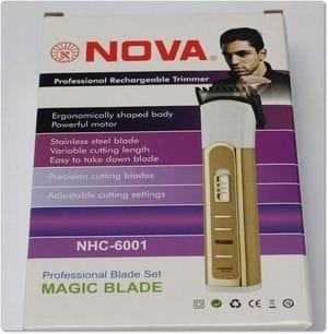 harga Hair cliper / alar cukur rambut merk nova recharger Tokopedia.com