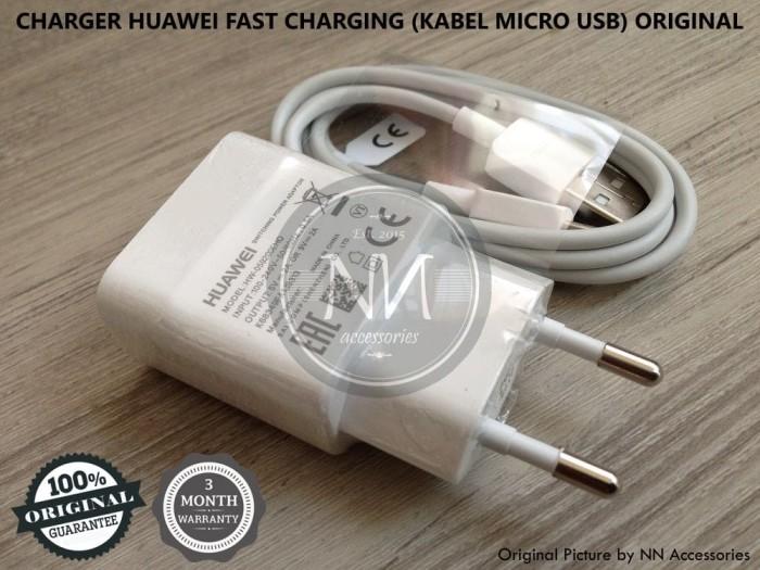 harga Charger huawei p9 p10 lite mate 8 honor 7 y6pro fast charging original Tokopedia.com