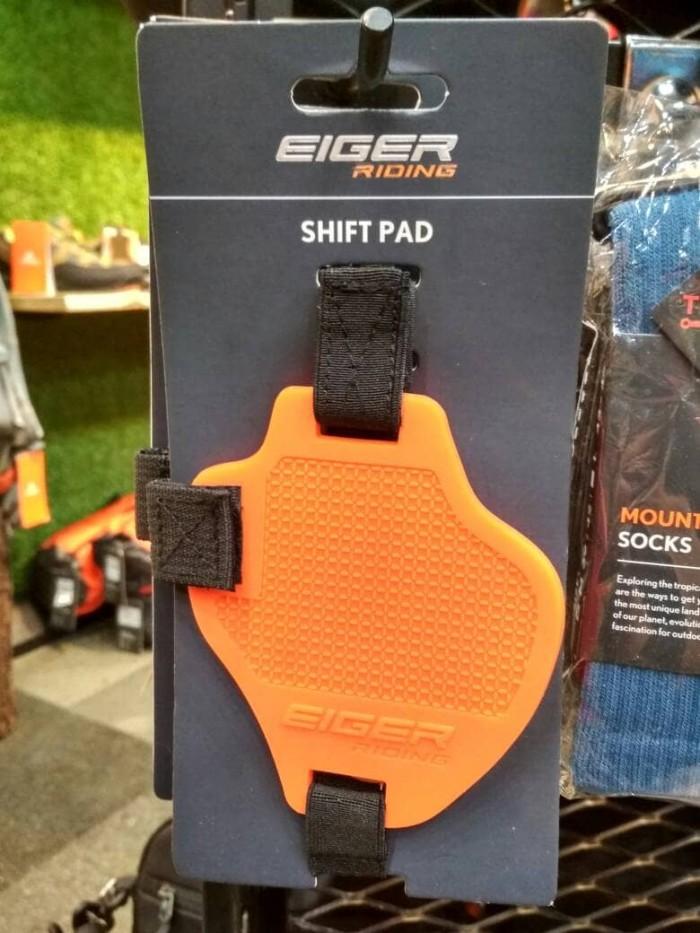 harga Eiger riding shift pad orange pelindung sepatu touring motor shifter Tokopedia.com