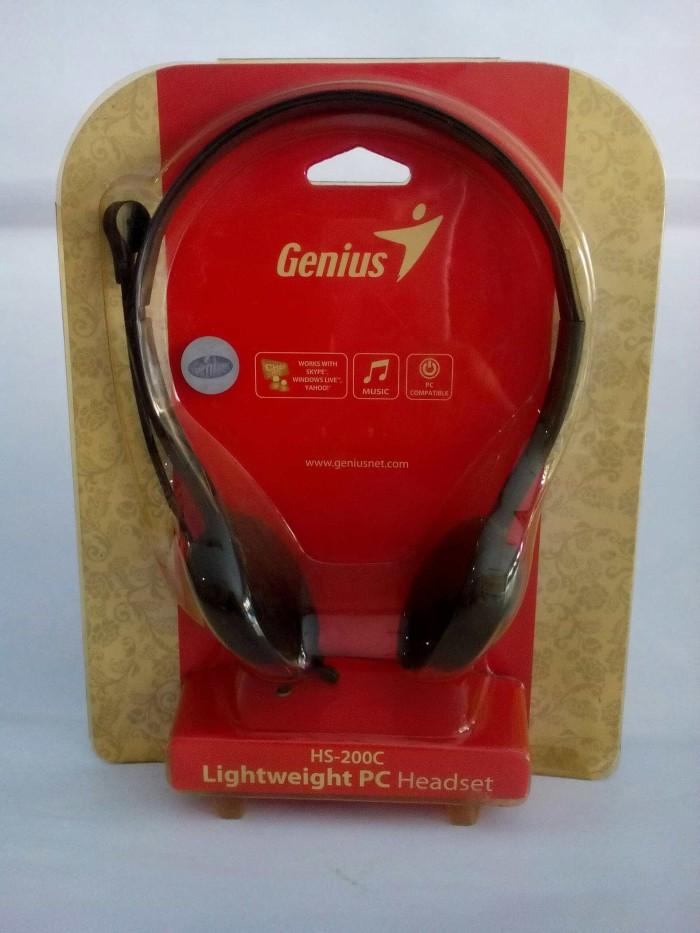 harga Headset genius hs-200c Tokopedia.com