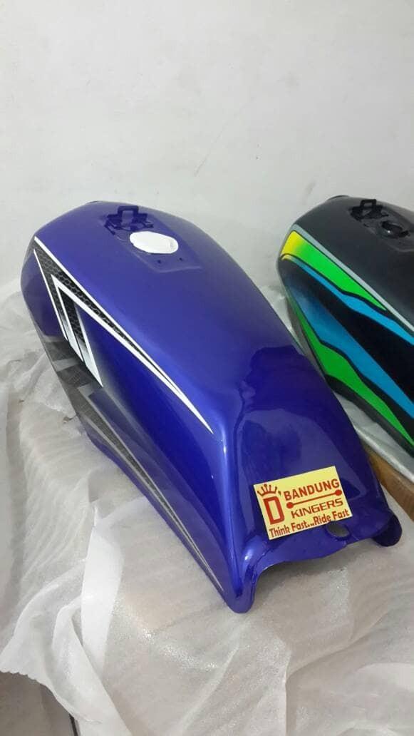 harga Jual tengki motor yamaha rx king 2004 biru Tokopedia.com