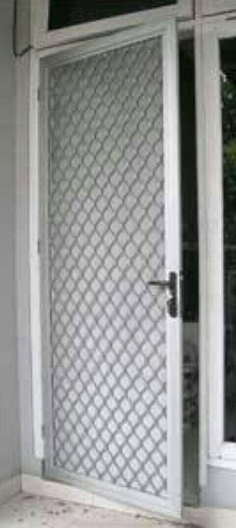 Jual Pintu Kasa Nyamuk Expanda Aluminium Silver - Kota ...