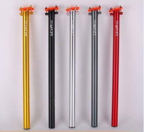 harga Seatpost litepro cnc a61 33.9 - 600mm - seatpost dahon sepeda lipat Tokopedia.com
