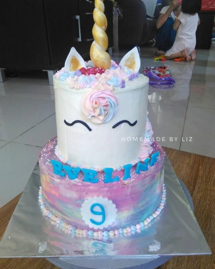Unicorn Cakes Cake Ultah Unicorn