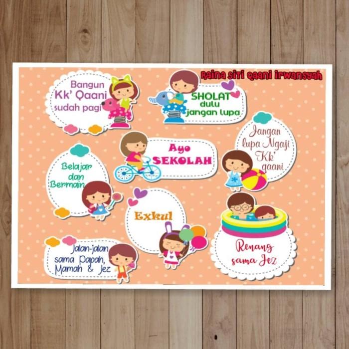 Jual Custom Poster Kegiatan A3 Kota Bogor Callista Kaos Murah