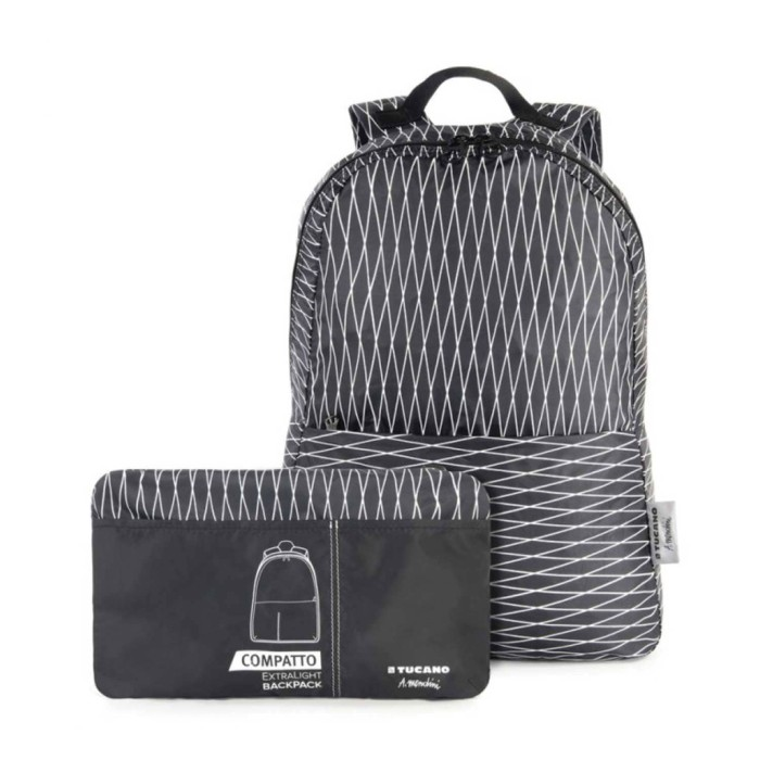 Tucano foldable bag / tas lipat compatto zaino backpack mendini