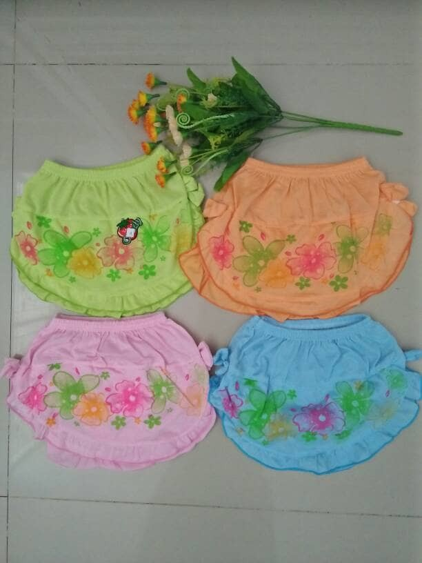 harga 6pcs celana dalam kombinasi rok anak balita/cd rok anak cewek/rok lucu Tokopedia.com