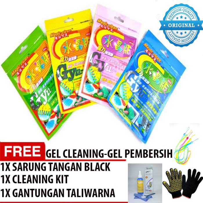 harga Cleaning glue high tech cleaner keyboard wipe compound cyber clean Tokopedia.com