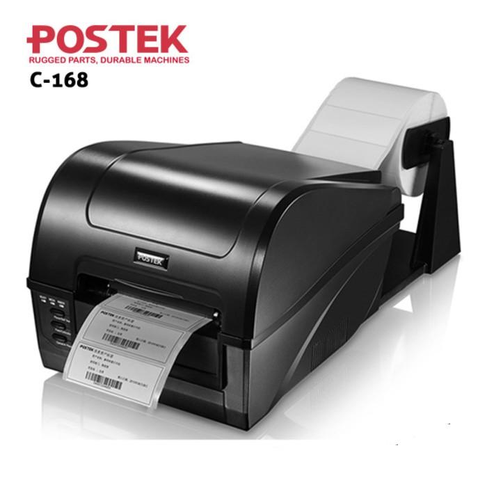 harga Barcode printer / label printer postek c1688 (handal kelas industri) Tokopedia.com