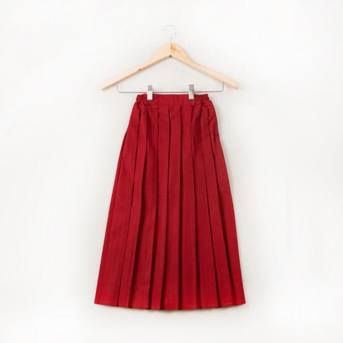 harga Size 2 3 4 rok plisir panjang sd woffi merah Tokopedia.com