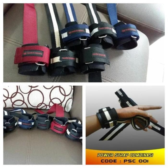 harga Sarung tangan power strap fitness  gym hauberk Tokopedia.com