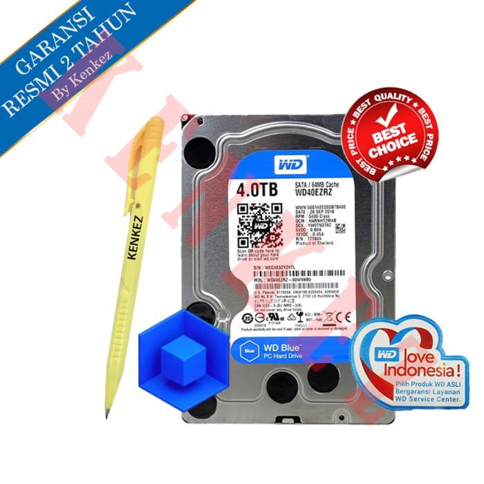 Wd blue 4tb sata harddisk internal pc 3.5  + pen