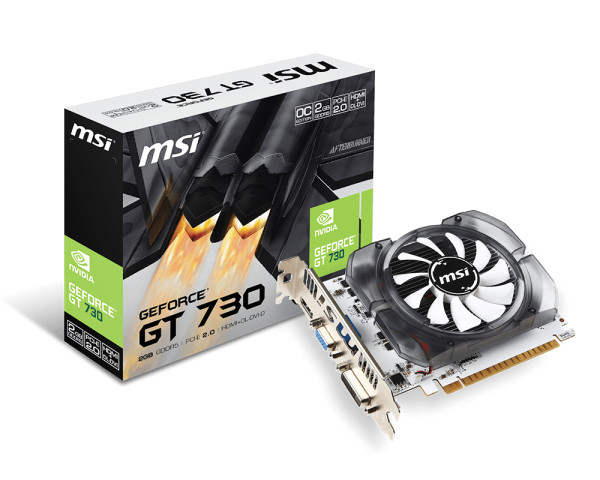 New Driver: MSI N730-2GD3 Graphics Card