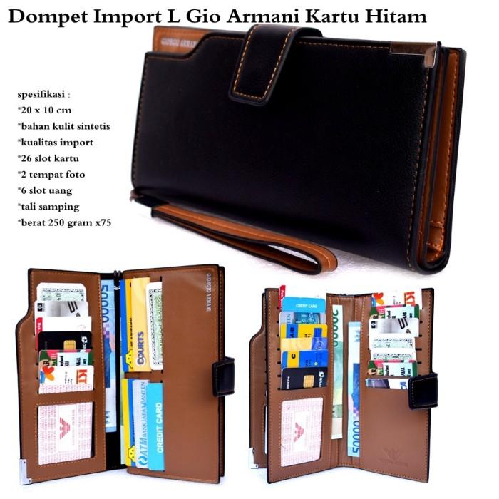 Jual Grosir Dompet Kartu L Armani Import KODE FD59 - Blide  1d6331f5bd
