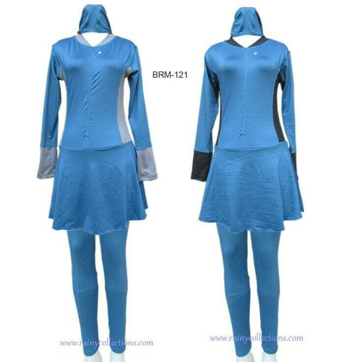 Baju Renang Muslim Jumbo BRM-121J