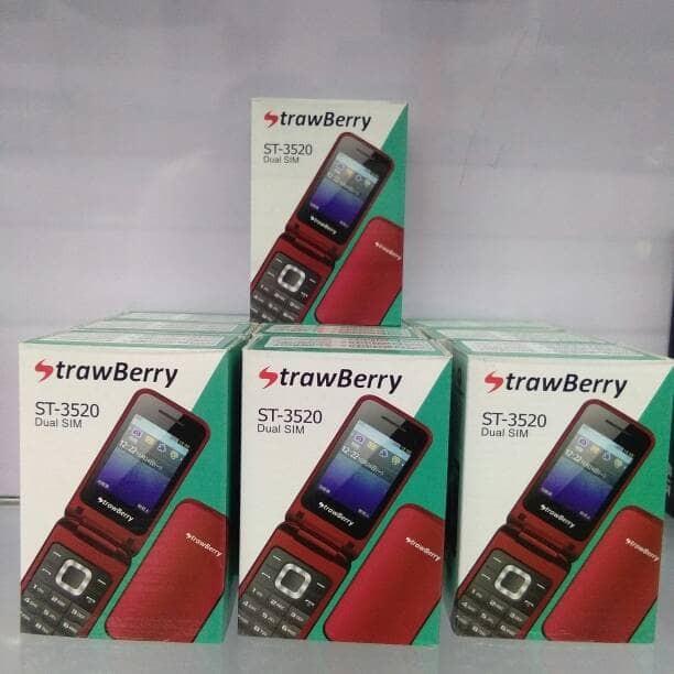 Strawberry st-3520 dual sim flip phone