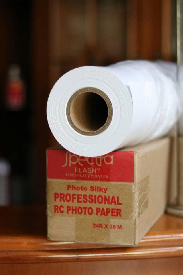 harga Paper foto plotter spectra rc 24 inch silky Tokopedia.com