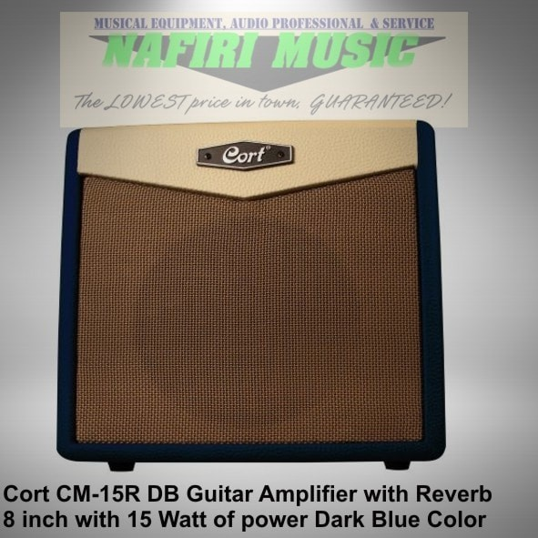 Amplifier gitar cort cm15r-db / cort cm 15r blue / cort cm-15r db
