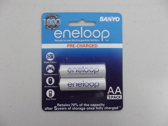 Baterai cas Sanyo Enelop AA Rechargeable Bisa Di Cas Ulang