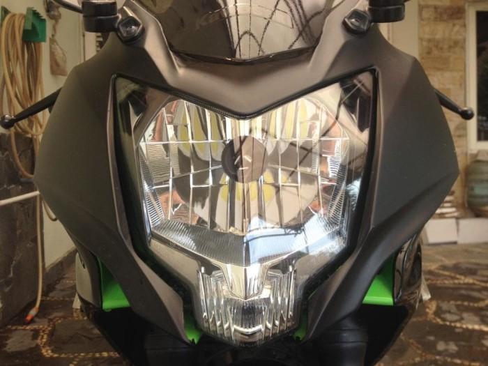 ... harga Kaca mika headlamp lampu depan ninja 250 sl rr mono z 250 sl Tokopedia.