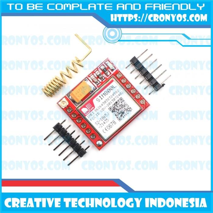 Foto Produk Modul GSM / GPRS SIM800L Arduino dari Creative Technology Indo