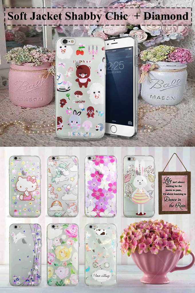 harga Soft case shabby chic diamond Tokopedia.com