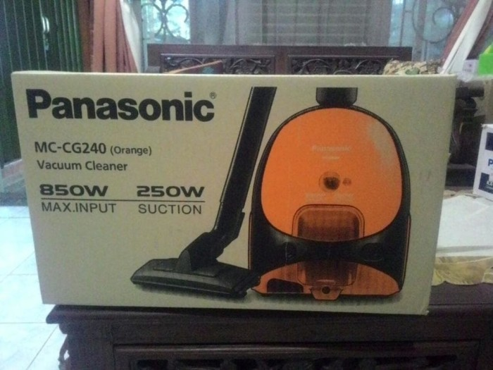 harga Vacuum cleaner panasonic mc-cg240 Tokopedia.com
