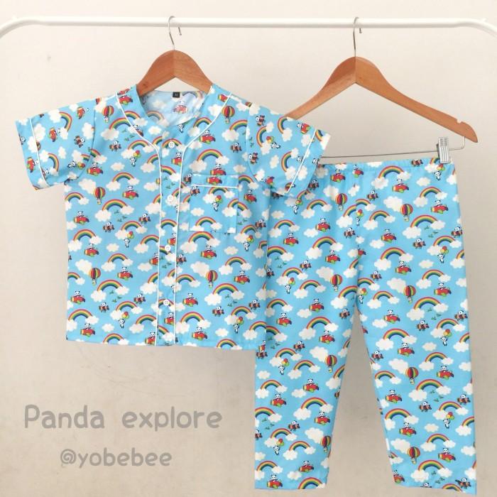Piyama anak Size M baju tidur anak pajamas anak sleepwear anak