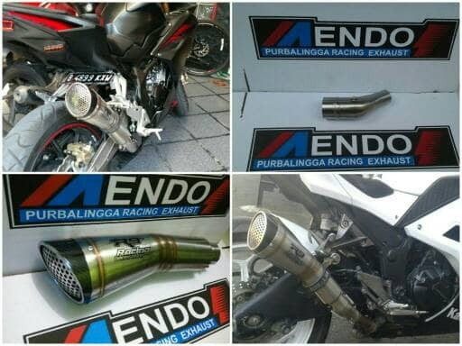 harga Knalpot racing replika r9 h2 slip on ninja 250 r/fi/r25/mt25/cbr250rr Tokopedia.com