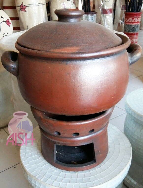Jual Kuali Panci Anglo Tungku Tradisional Tembikar Tanah Liat Bakar Kab Purwakarta Aish318 Tokopedia