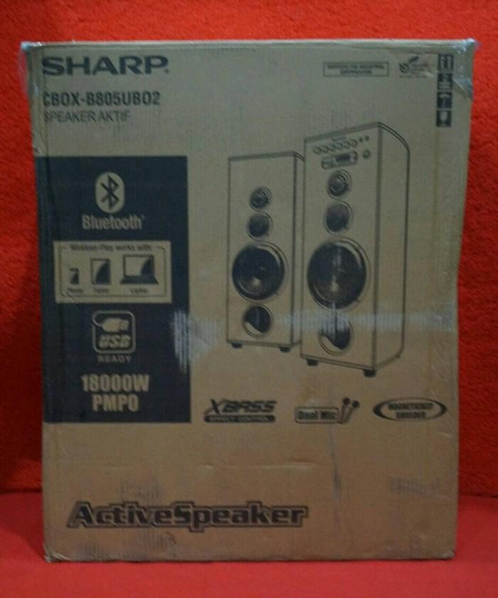 Speaker Aktif Sharp CBOX-B805UBO2 / CBOX-B805UBO 2 CBOXB805UBO2 .