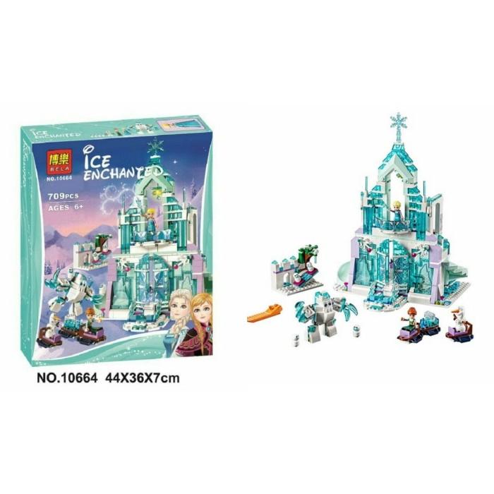 harga Lego bela 10664 709pcs ice echanted snow world elsa magical frozen Tokopedia.com