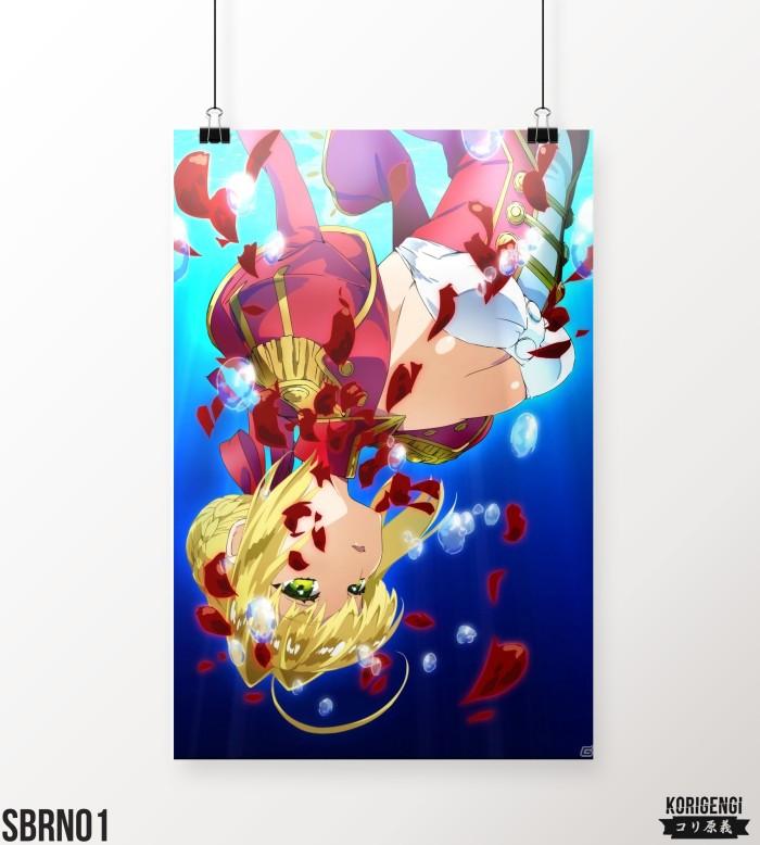 Foto Produk Poster Saber Nero A3+ dari KORIGENGI Store